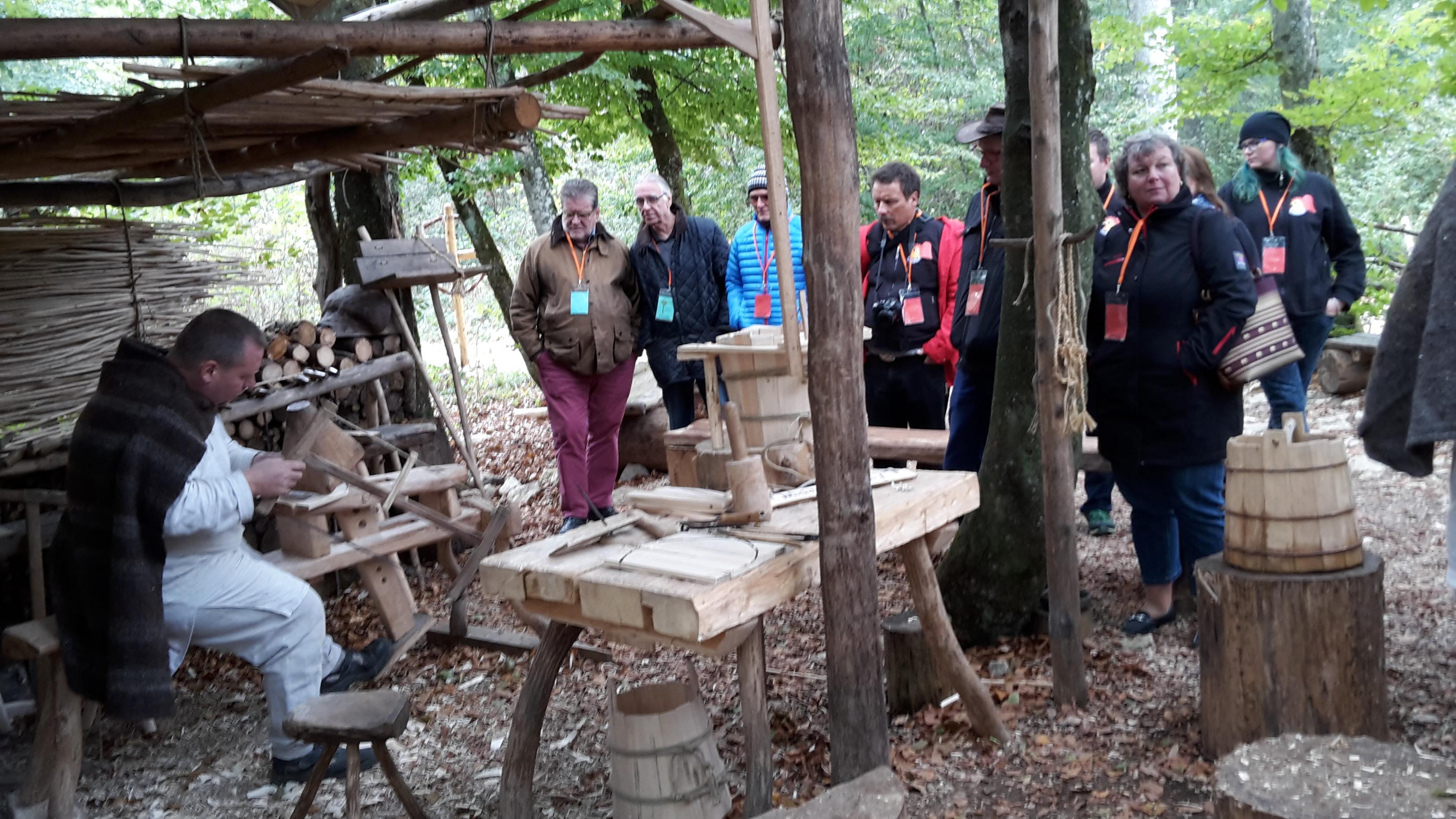 Die Gockel besuchen das Mittelalter