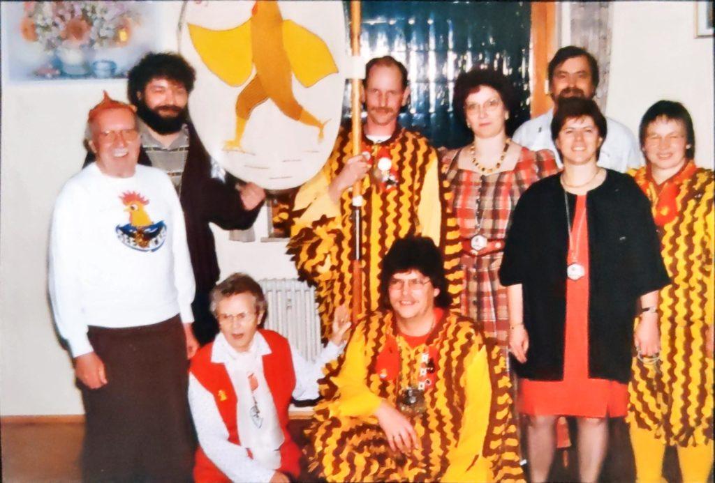 Taufe Gockelfahne 1996